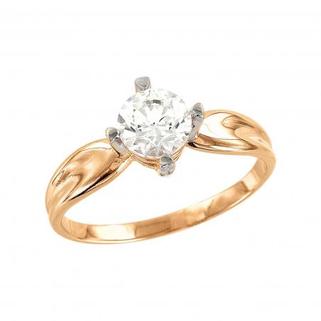 Первоклассное мужское кольцо с фианитом