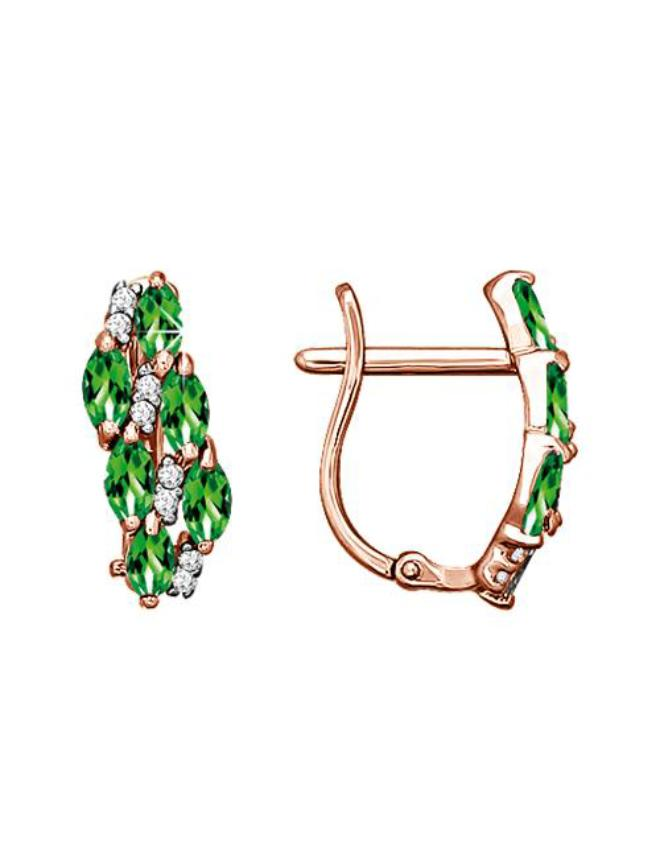 Оригинальное обручальное кольцо с красного и белого золота