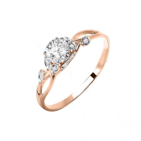Очаровательное золотое колье / браслет с фианитами