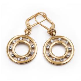 Классическое жемчужное ожерелье с серебряным замком