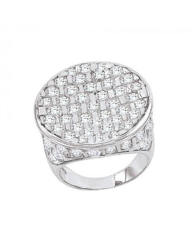 Ohrringe mit Swarovski Kristall , Vergoldet mit 18K LC