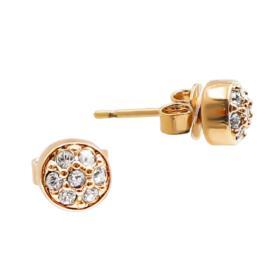 Ohrringe mit Swarovski Kristallen, Vergoldet mit 18K LC