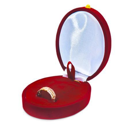 Обручальные кольца из красного золота с/без бриллиантом/а