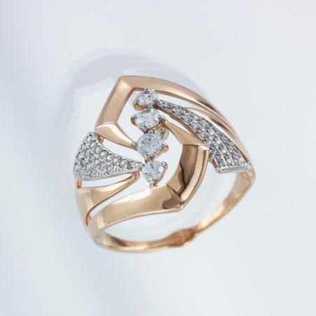 Стильная золотая цепь и браслет