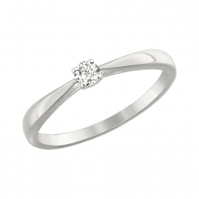Damenring Topas London Blue und Zirkonia
