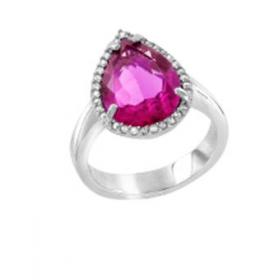 Anhänger mit Kristall hellblau