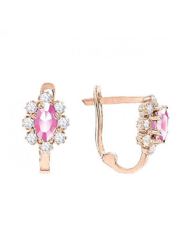 Изысканное дамское кольцо с сапфиром и бриллиантами
