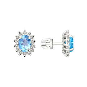 Крест, желтое золото 585 пробы