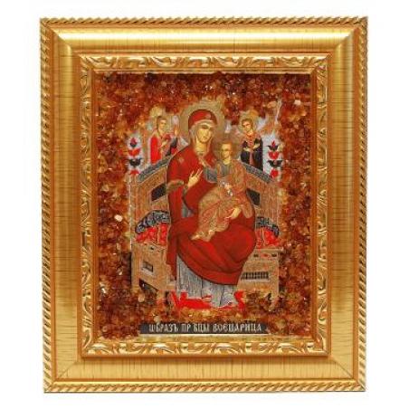 Крест из белого и красного золота