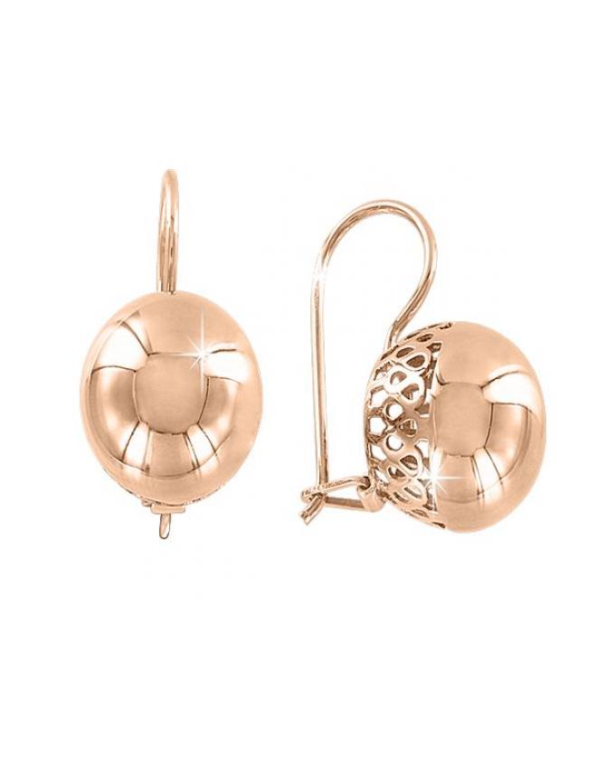 Ohrhänger aus Weißgold mit Brillanten und Saphir